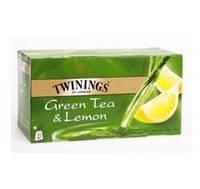 Чай зеленый Twinings Лимон, 25п.х2г