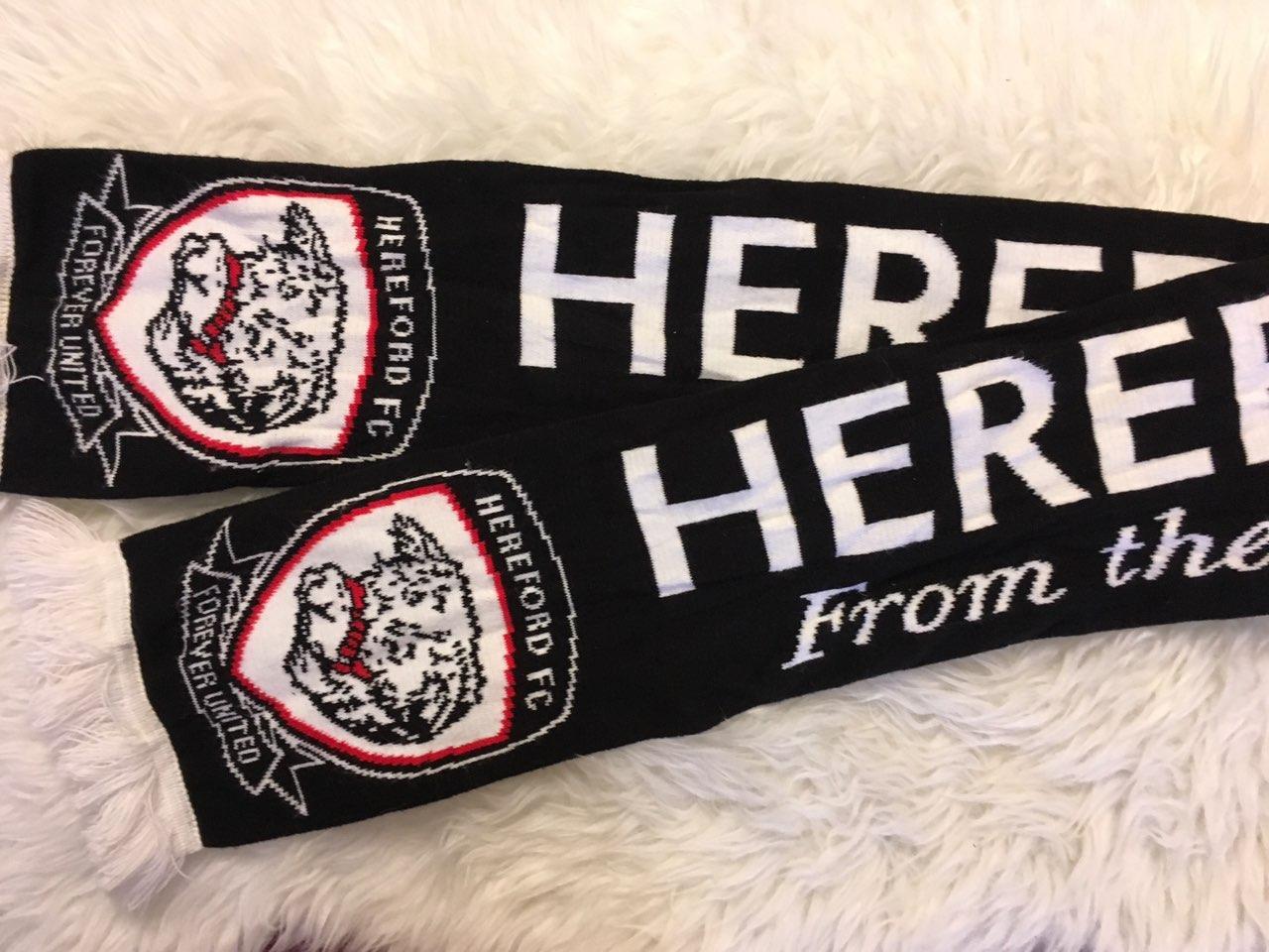 Футбольный шарф Hereford F.C.