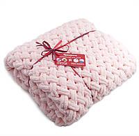 Детский плюшевый плед Ярмирина Розовый Кварц 80х100 см для девочки