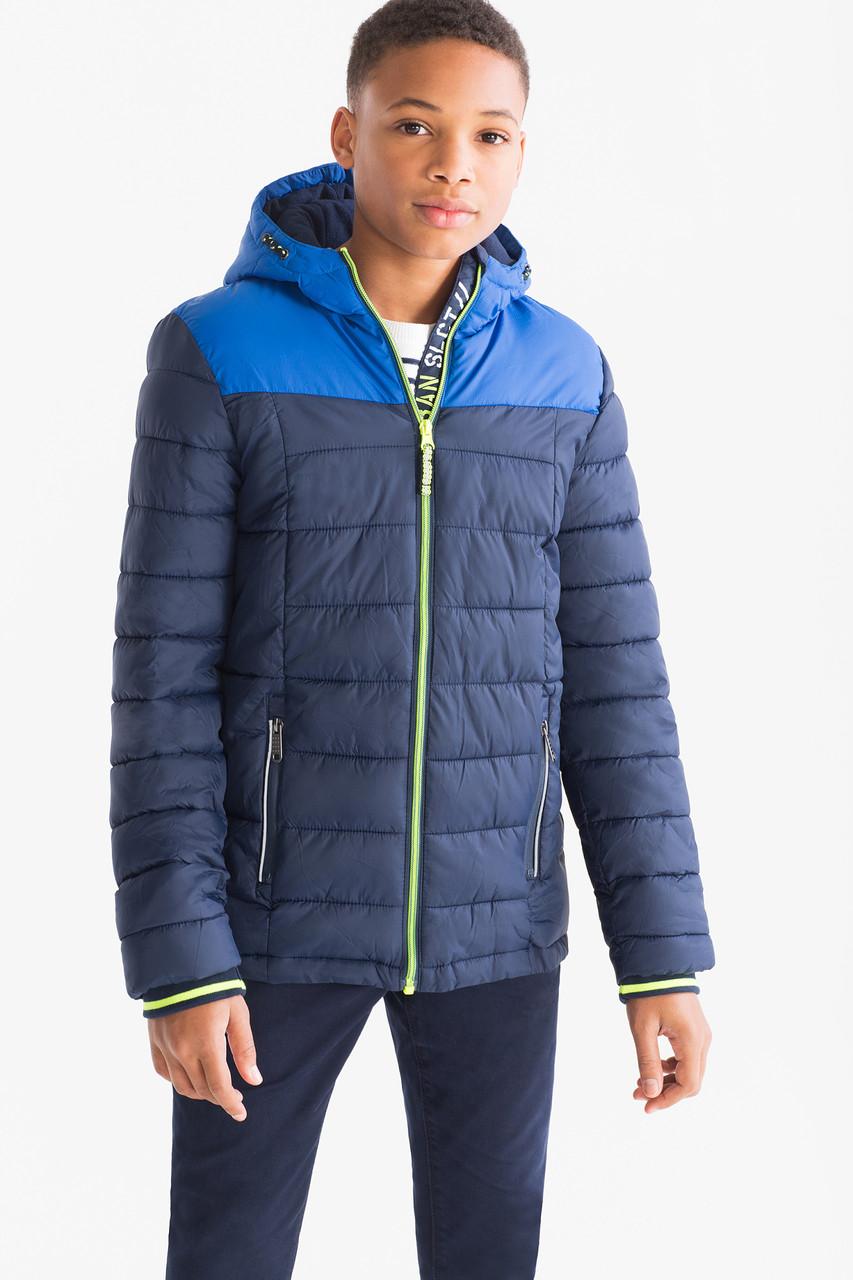 Демисезонная куртка с флисом для мальчика C&A Германия Размер 140