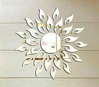 Зеркальные наклейки для декора