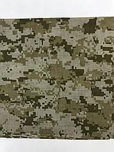 Бандана (платок)  хлопок   55 х 55см   цвет хаки камуфляж