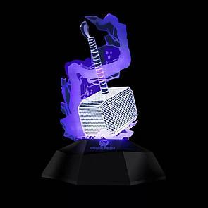 3D лампа Geegmen Молот Тора