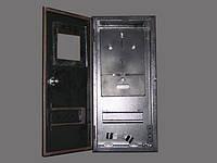 Уличный металлический ящик 1 фазный счетчик