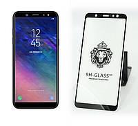 Защитное Стекло Xiaomi Redmi 6 Pro — Full Glue 9H — Black   (тех.пак)