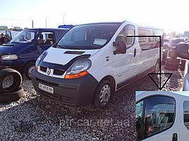 Дефлекторы окон (ветровики)  Renault Trafic 2001->/Opel Vivaro 2001 2шт (Heko)