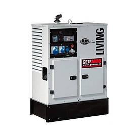 Однофазный дизельный генератор Genmac Living RG12000KS (12.1 кВт)