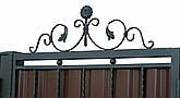 Кованые ворота и калитка  В-03, фото 3