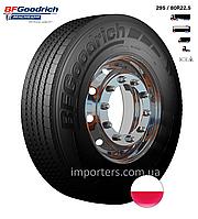 Шина Вантажна 295/80 R22,5 M+S/3PMSF ROUTE CONTROL S рульова вісь BFGoodrich (Michelin) Польща