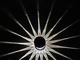 5 шт. Садові світильники на сонячній батареї 43 див. (нерж. сталь), фото 8