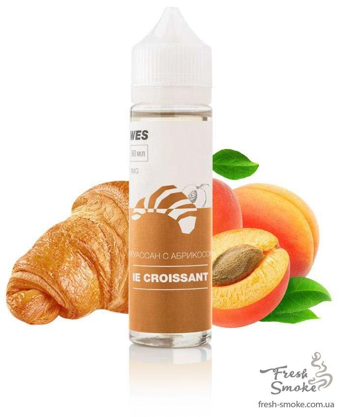 "Жидкость для вейпа WES The First ""Le croissant "" 60 мл (Круасан с абрикосом)"