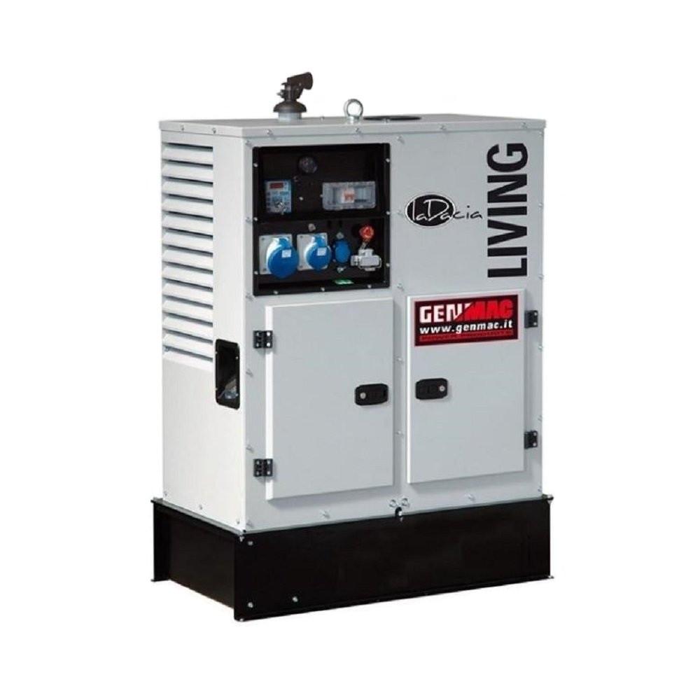 Трехфазный дизельный генератор Genmac Living G15000KS (11.9 кВт)