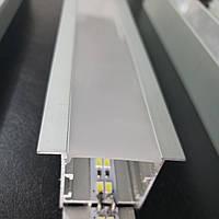 LED профиль SV-36 для светодиодной ленты с рассеивателем матовым, фото 1
