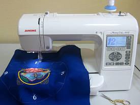 Вышивка машинная