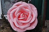Большие цветы Роза на фотозону диаметром 40 см