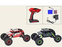 Машина-джип р/у, аккумулятор, аммортизаторы, 1:18, небьющийся корпус, в коробке, 2 вида, фото 1