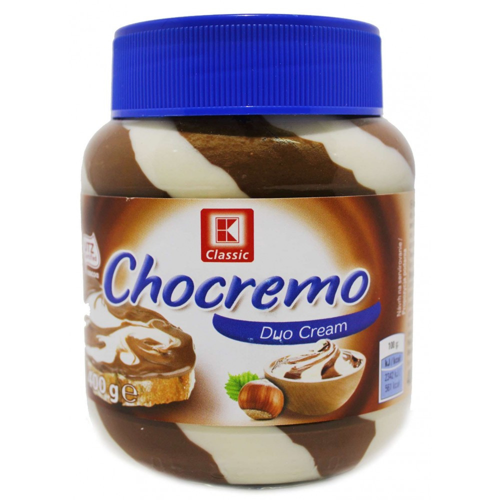 Chocremo Duo Cream, паста орехово-шоколадная 400 гр. Германия