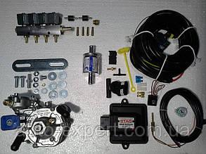 Комплект STAG 200 GoFast, редуктор Alaska, форсунки Valtek, фильтр, датчик температуры