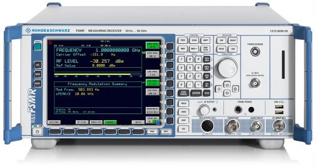 Измерительный приемник Rohde & Schwarz R&S®FSMR Measuring Receiver