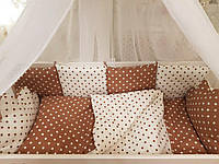 Детское постельное белье для новорожденных в кроватку Bonna Сладкие сны, Облачко