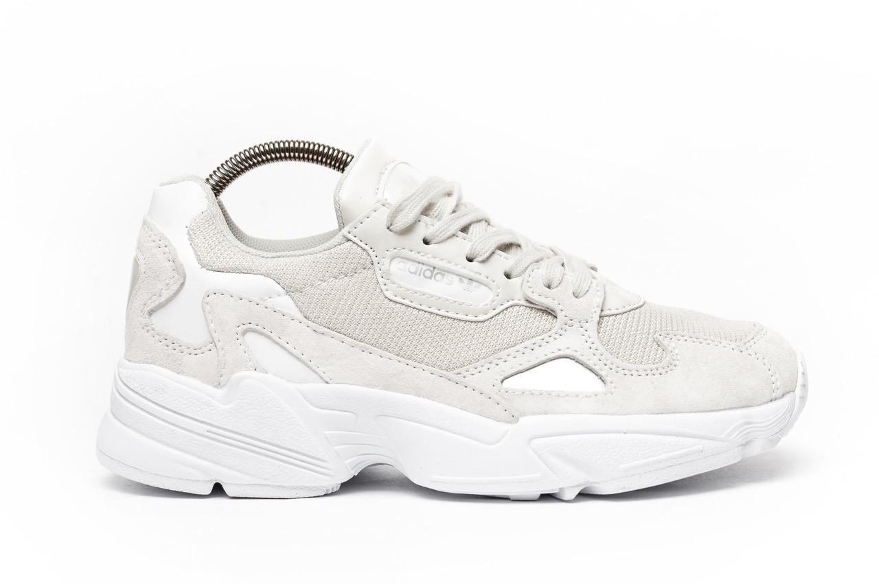 Женские кроссовки Adidas Falcon white