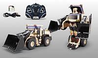 Трансформер трактор радіоуправління, на акумуляторі, звукові та світлові ефекти