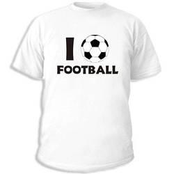 Футболка с принтом белая