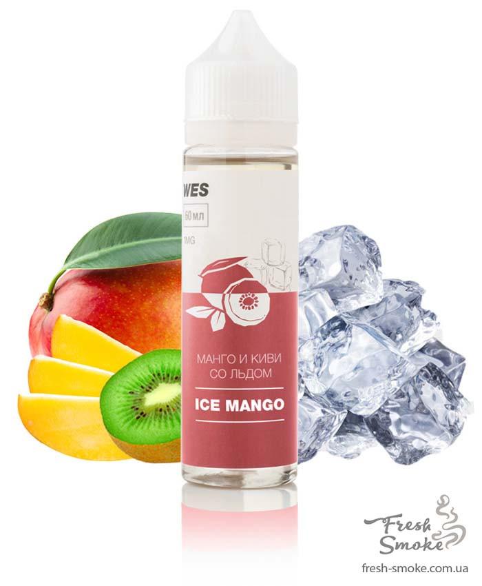 """Жидкость (заправка) для электронных сигарет/вейпа WES The First """"Ice Mango"""" 60 мл (Манго и киви со льдом)"""
