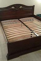 Кровать Орхидея из массива дуба.
