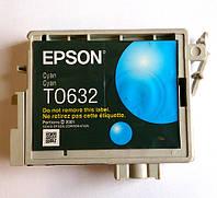 Оригинальный картридж Epson T0632, Cyan