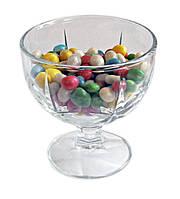 Креманка стеклянная 290 мл для мороженого, десертов UniGlass Sonia