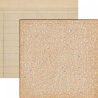 Бумага для скрапбукинга Teresa Collins - Vintage Finds - Dots, 30х30, VF1007