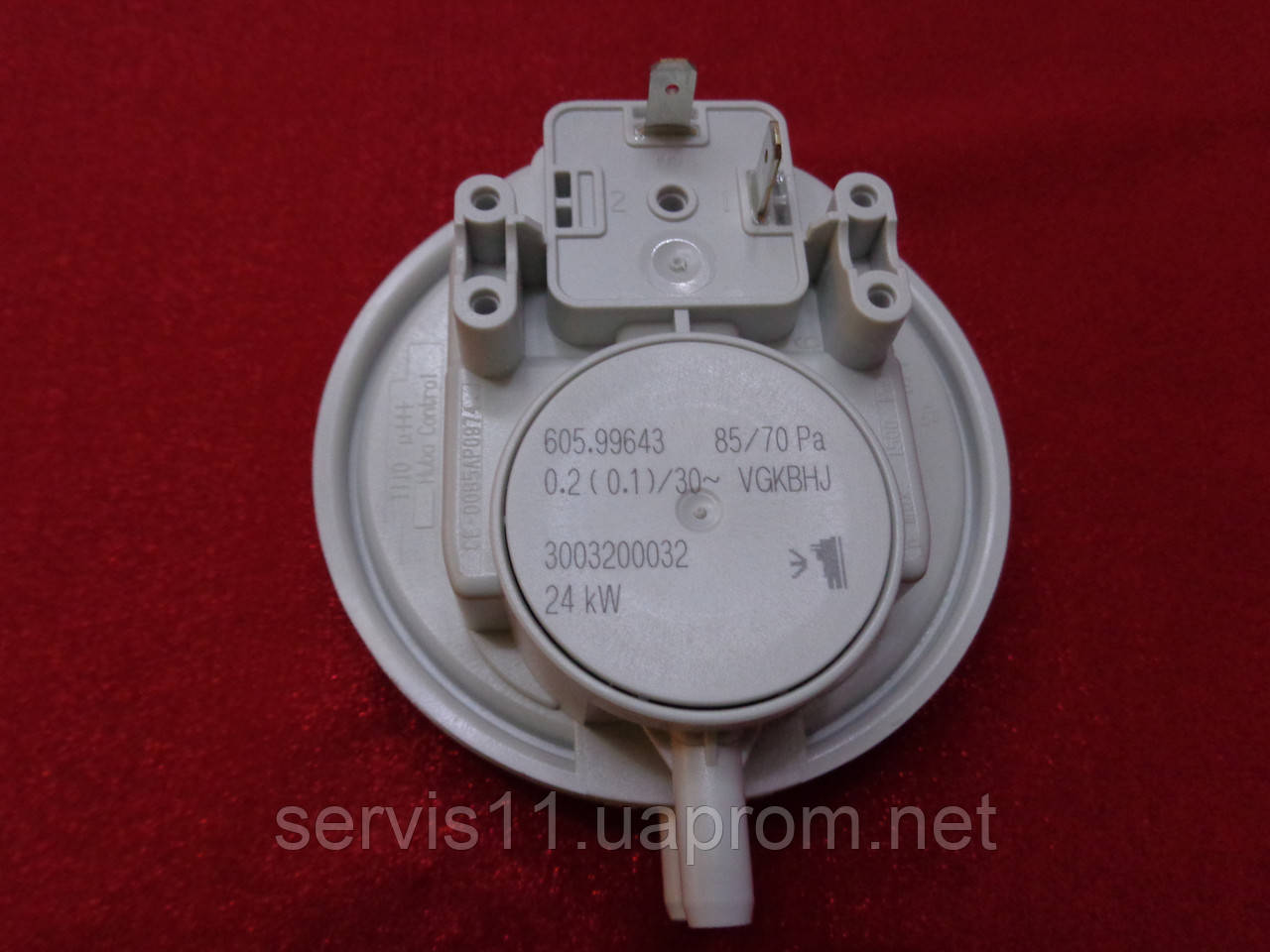 Реле давления дыма (прессостат) котлов Demrad 85/70 Pa