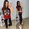 """Модная футболка GUCCI """"Кошка"""", размеры S M L XL Турция, фото 4"""