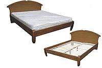 Деревянная кровать Чайка овал   Делфис