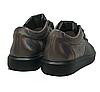 Женские черные кожаные кроссовки 41 размер 26.5 см, фото 4