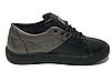 Женские черные кожаные кроссовки 41 размер 26.5 см, фото 2