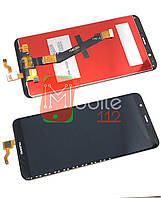 Экран с тачскрином Huawei P Smart (FIG-LX1 FIG-LX2 FIG-LX3 FIG-LA1) Enjoy 7s Модуль (дисплей и сенсор), черный