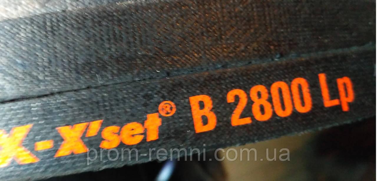 Приводний клиновий ремінь B(Б)-2800 PIX