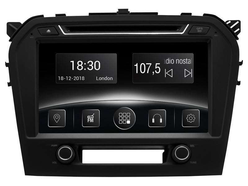 Штатная автомагнитола Gazer CM5009-GV (Suzuki Grand Vitara (GV), 2015-2017)