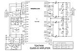 Підсилювач, мікросхема Д -клас TDA8954TH 2*210 Вт , 1*420 Вт мост, фото 8