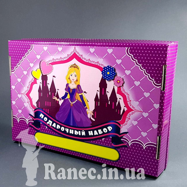 коробка подарочная для девочки