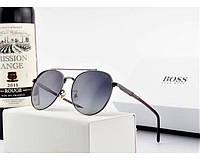 Мужские очки от солнца в стиле Boss (0990) , фото 1