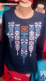 Женская вышиванка  с длинным рукавом.