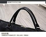 (37*60)Дорожная сумка 1990 на 2-х колесах Нейлоновая ткань(только оптом), фото 5
