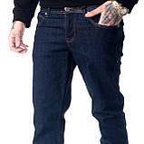 Мужские джинсы Franco Benussi 18-734 темно-синие, фото 2