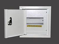 Шкаф металлический распределительный на 6 автоматов (Накладной; Внутренний)