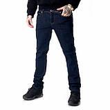 Мужские джинсы Franco Benussi 18-734 темно-синие, фото 5