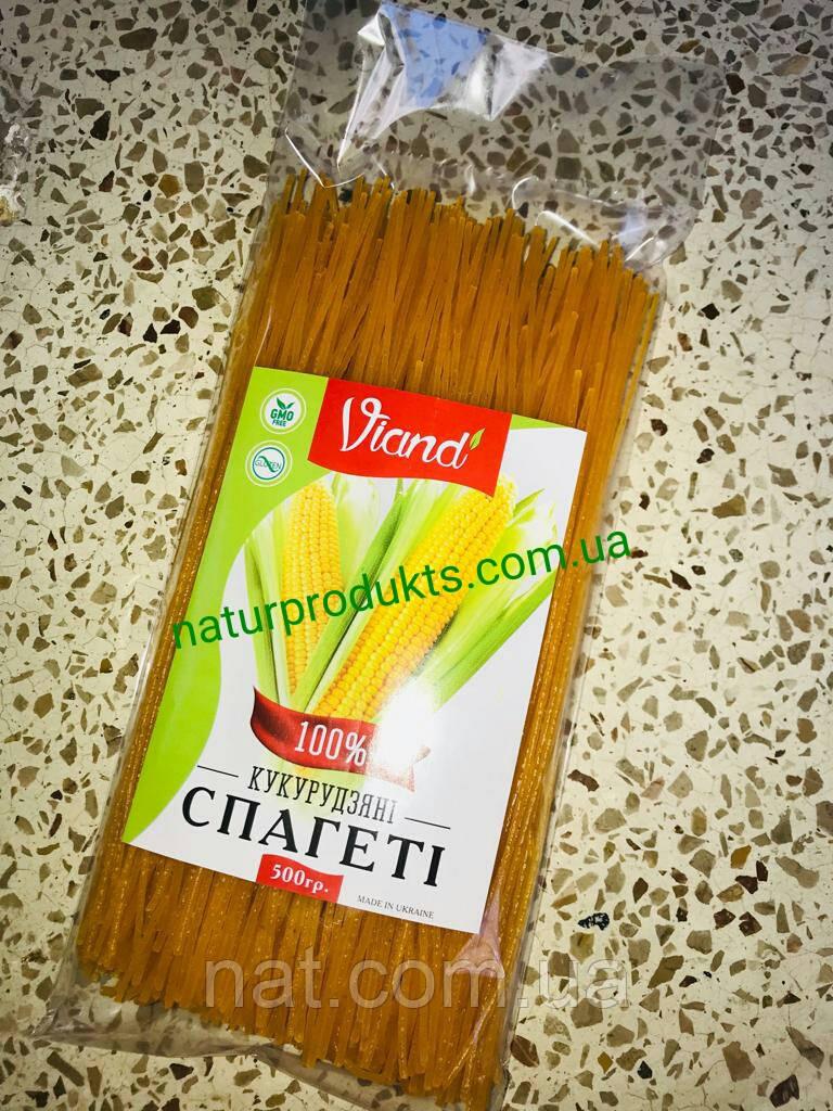 Спагетти кукурузные (безглютеновые), 500 г. сертифицированы
