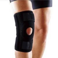 Наколенник защитный  нейлон для Баскетбола / бадминтона / волейбола - черный